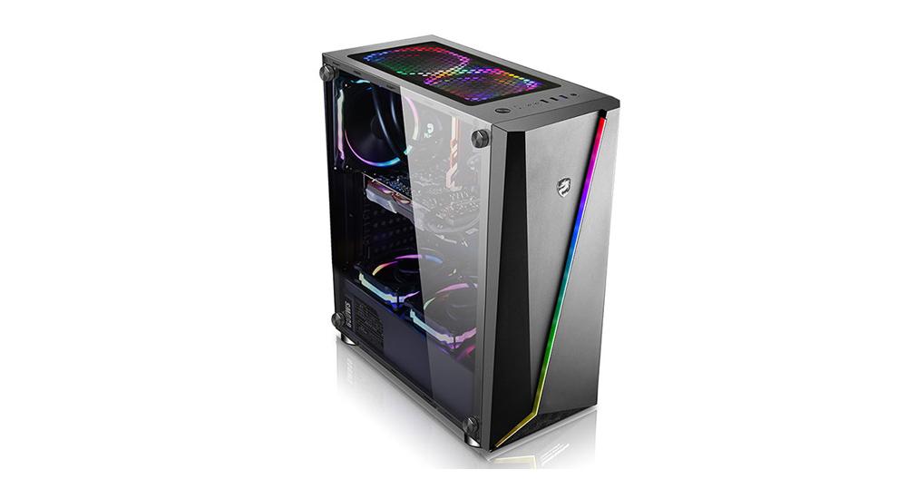 Tham khảo dòng vỏ case PC Vitra Nefertiti X9 RGB - đáp ứng ngon, bổ, rẻ