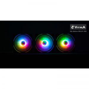 COMBO 3* FAN VITRA RAINBOW RGB  LED 12CM (không điều khiển)