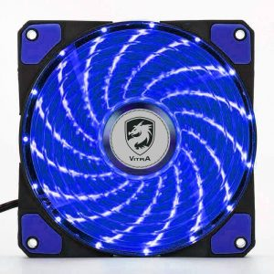 QUẠT LÀM MÁT VITRA FROST 12 15 LED BLUE