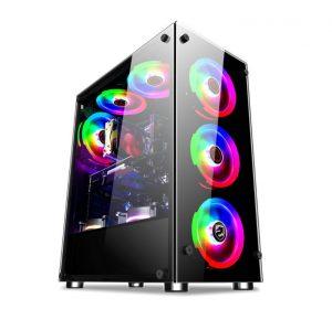 Vỏ máy tính Vitra Glitter Force X3 Black
