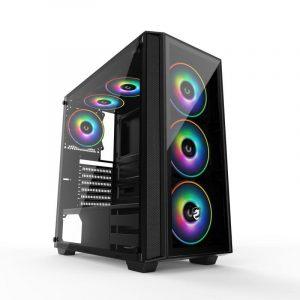 Vỏ máy tính Vitra Sparkle GenX E-ATX TEMPER GLASS
